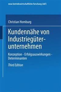 Kundennähe Von Industriegüterunternehmen
