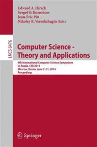 Computer Science - Theory and Applications