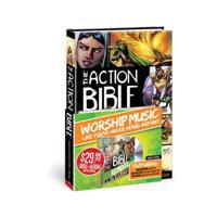 The Action Bible: God's Redemptive Story [With CD (Audio)]