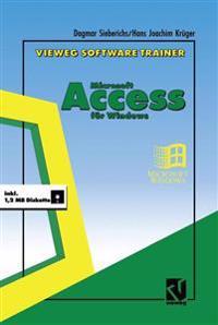 Vieweg Software-Trainer Microsoft Access F r Windows