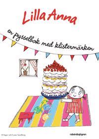 Lilla Anna - en pysselbok med klistermärken