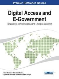Digital Access and E-Government