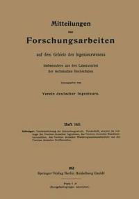 Mitteilungen  ber Forschungsarbeiten Auf Dem Gebiete Des Ingenieurwesens, Insbesondere Aus Den Laboratorien Der Technischen Hochschulen