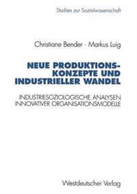 Neue Produktionskonzepte Und Industrieller Wandel