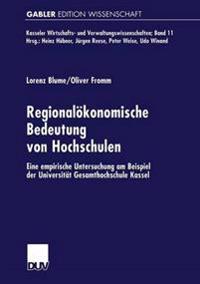 Regional konomische Bedeutung Von Hochschulen