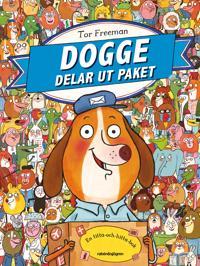 Dogge delar ut paket