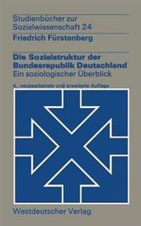 Die Sozialstruktur Der Bundesrepublik Deutschland