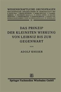 Das Prinzip Der Kleinsten Wirkung Von Leibniz Bis Zur Gegenwart