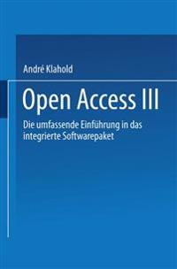 Open Access III