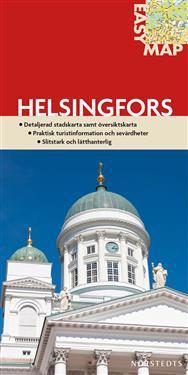 Helsingfors Easymap Stadskarta 1 14750 Finland Karta Falsad