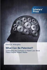 What Can Be Patented?