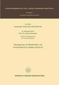 Überlagerung Von Mischkristall- Und Teilchenhärtung Im System Cuau-co