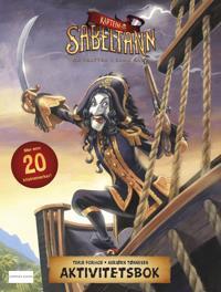 Kaptein Sabeltann og skatten i Lama Rama. Aktivitetsbok med klistremerker