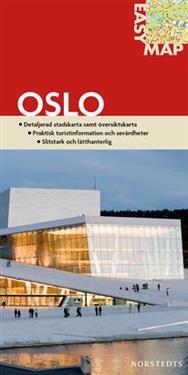 Oslo EasyMap stadskarta : 1:14000