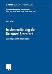 Implementierung Der Balanced Scorecard
