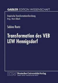 Transformation Des Veb Lew Hennigsdorf