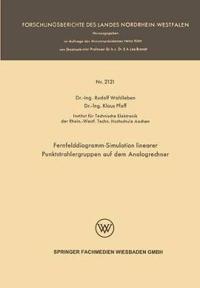 Fernfelddiagramm-Simulation Linearer Punktstrahlergruppen auf dem Analogrechner