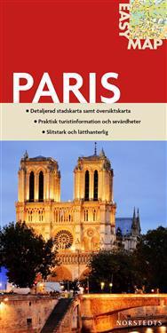 Paris EasyMap stadskarta : 1:17500