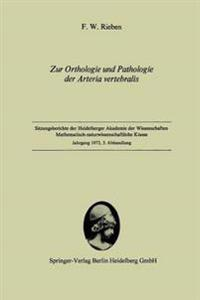 Zur Orthologie Und Pathologie Der Arteria Vertebralis