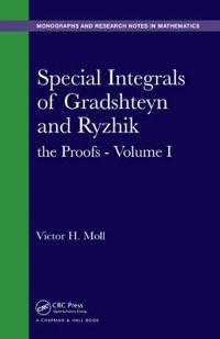 Special Integrals of Gradshteyn and Ryzhik