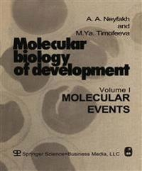 Molecular Biology of Development