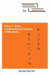 Computational Analysis of Mandarin