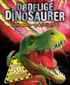 Dødelige dinosaurer. Klistremerke- og aktivitetsbok