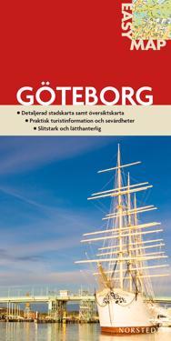 Göteborg EasyMap stadskarta : 1:6000