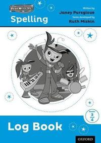 Read Write Inc. Spelling: Log Book 3-4 Pack of 5