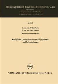 Analytische Untersuchungen an Polyacrylnitril- Und Polyesterfasern