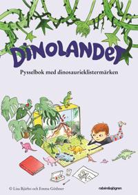 Dinolandet - Pysselbok : med klistermärken