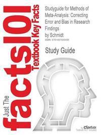 Studyguide for Methods of Meta-Analysis