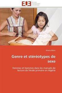 Genre Et St�r�otypes de Sexe