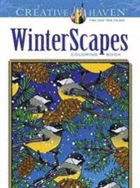Winterscapes Adult Coloring Book