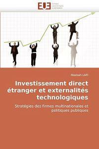 Investissement Direct Etranger Et Externalites Technologiques