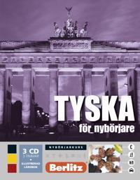 Tyska för nybörjare, språkkurs: Språkkurs med 3 CD