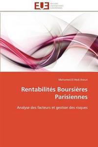 Rentabilit�s Boursi�res Parisiennes