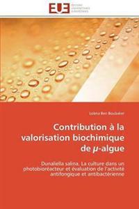 Contribution a la Valorisation Biochimique de -Algue