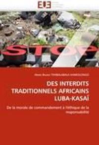 Des Interdits Traditionnels Africains Luba-Kasa�
