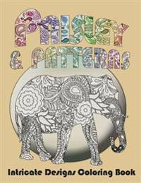 Paisley and Patterns: Intricate Designs Coloring Book