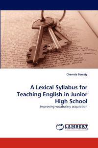 A Lexical Syllabus for Teaching English in Junior High School
