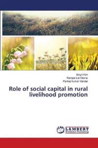 Role of Social Capital in Rural Livelihood Promotion