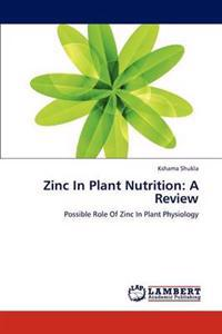 Zinc in Plant Nutrition