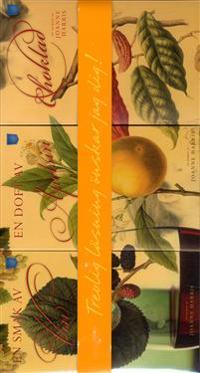 Presentbox mattrilogin; Vin; Apelsin; Choklad