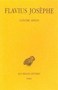 Flavius Josephe, Contre Apion