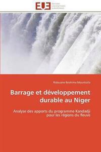 Barrage Et Developpement Durable Au Niger