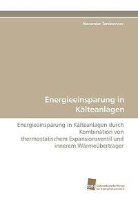 Energieeinsparung in Kalteanlagen