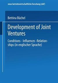 Development of Joint Ventures