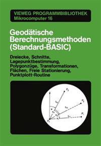 Geod tische Berechnungsmethoden (Standard-Basic)