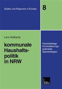 Kommunale Haushaltspolitik in Nrw
